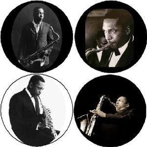 Set of 4 John Coltrane 1.25 MAGNETS Trane American jazz