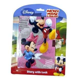 Disney Mickey & Friends diaries book with lock: Toys & Games