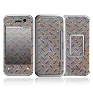 Metal Steel Design Protective Skin Decal Sticker for