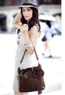 Genuine Leather Purse Shoulder Bag Handbag Tote Satchel 6 colors