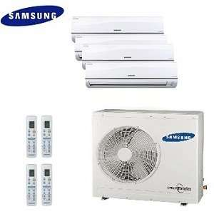 Samsung Free Joint Multi Split Ductless Quad Zone Heat Pump