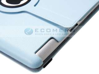 New PU Leather Smart Cover Case Rotating 360° Stand Magnet Case for
