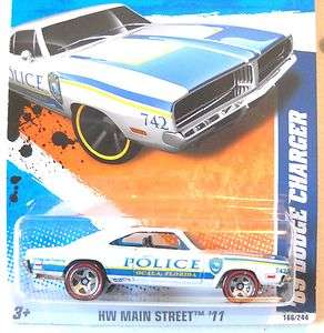 2011 Hot Wheels #166 69 DODGE CHARGER HW Main Street RLs  OCALA