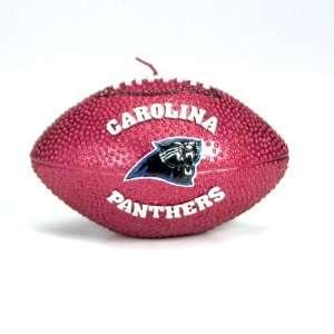 Pack of 10 NFL Carolina Panthers 5 Football Candles