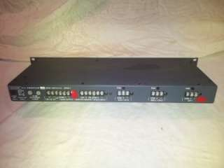 AMERICAN SERIES AP4611 PREAMP MIXER AMPLIFIER 3 INPUT SOURCES