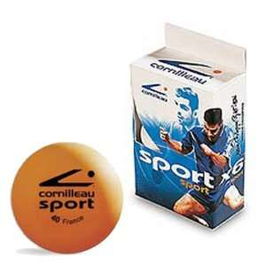 Cornilleau Sport Table Tennis Balls (6)