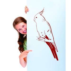 Removable Wall Decals  Bird on a Branch (4)