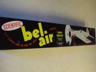 SCIENTIFIC * BEL AIR * CONTROL LINE MODEL AIRPLANE KIT **