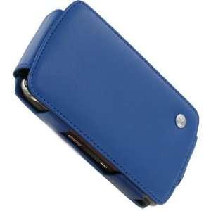 Noreve BlackBerry Storm Leather Flip Case (Ocean Blue