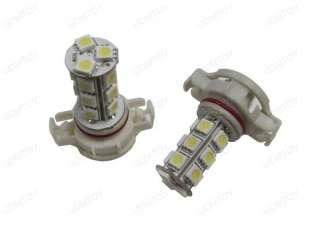 White 18 SMD H16 5202 LED Driving Fog Light Bulbs Chevy