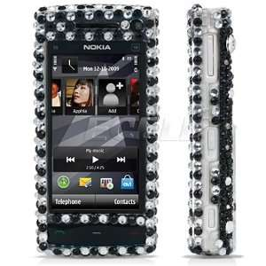 Ecell   CLEAR BUTTERFLY 3D CRYSTAL BLING CASE FOR NOKIA X6
