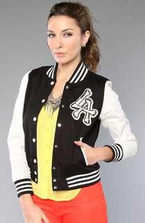Joyrich The LA Cross Varsity Jacket Black
