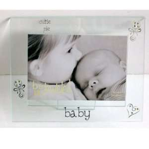 Cutie Pie Baby Glass Picture Frame Baby