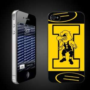University of Iowa Hawkeyes CLEAR iPhone Hard Case   (#11 Wrestler