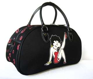 20 Duffel/Tote Bag Luggage Purse Travel Red Betty Boop