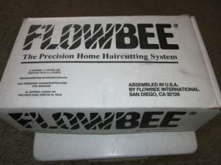 FLOWBEE PRECISION HAIR CUTTING SYSTEM HAIR CARE MACHINE EXCELLENT COND