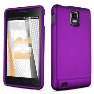 FOR Samsung Infuse AT&T CELL PHONE PURPLE COVER CASE $$