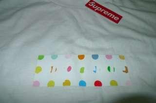 Supreme Damien Hirst Box Logo Tee Cap Hat Kate Moss Kaws Nike T Shirt