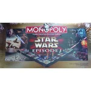 Monopoly Star Wars Episode I Board Game Made by Hasbro Toys & Games