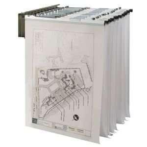 WALL PIVOT RACK f/PRINTS Drafting, Engineering, Art (General Catalog)