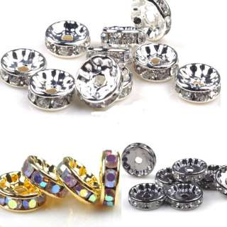 Wholesale jewelry lot basketball wives earring Crystal Rondelle