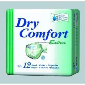 Dry Comfort Extra Briefs Size   Large Health & Personal