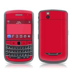 Solid State Red Design Skin Decal Sticker for Blackberry