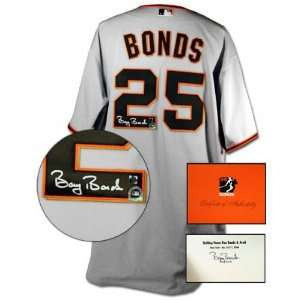 Barry Bonds San Francisco Giants Autographed Authentic Away Jersey