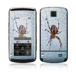 Dewy Spider Decorative Skin Cover Decal Sticker for LG Venus VX8800