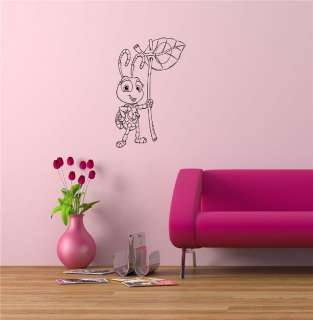BUGS LIFE BABY ROOM NURSERY WALL VINYL STICKER DECALS ART MURAL D295