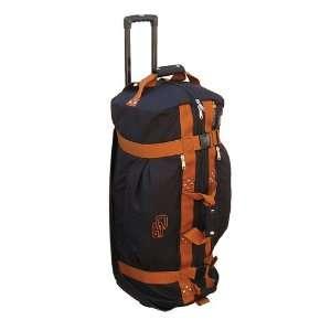 New Club Glove Rolling Duffle Travel Bag Black/Copper