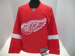 NHL DETROIT RED WINGS REEBOK HOCKEY Sewn Jersey MD