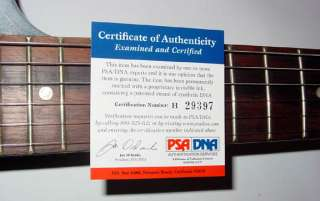 Dierks Bentley Autographed Signed Airbrush Guitar & Proof PSA UACC RD