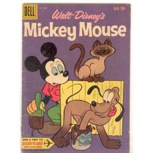 Mickey Mouse (Walt Disneys) No. 74, 1960 Year, VG/F , 25
