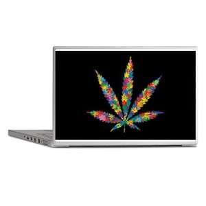 Laptop Notebook 7 Skin Cover Marijuana Flowers 60s