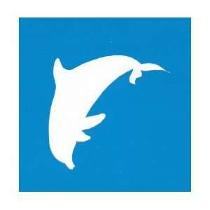 DOLPHIN STENCIL Snazaroo Face Painting Stencil Toys & Games