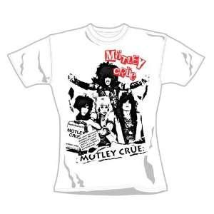 Loud Distribution   Motley Crue T Shirt femme White Trash (M) Music