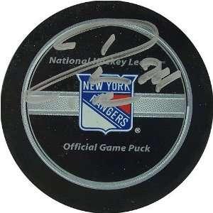 Ryan Callahan New York Rangers Autographed Puck Sports