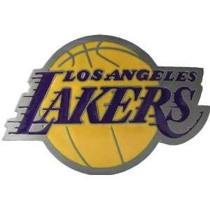 Licensed NBA Los Angeles Lakers Logo Belt Buckle