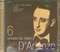 JUAN D ARIENZO GRANDES DEL TANGO 2 CD SET REMASTERED