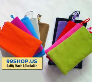 iPhone 4 4s Case    Cloth/Pocket Case   Good Quality   US Seller