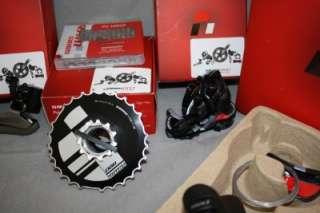 New 2012 Sram Red Black Edition 6 pcs Group Ceramic Carbon 1091R