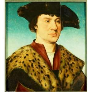 Hand Made Oil Reproduction   Joos van Cleve   32 x 36 inches   Portret