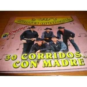 De Jalisco 3cds 30 Corridos LOS SATELITES DE JALISCO Music
