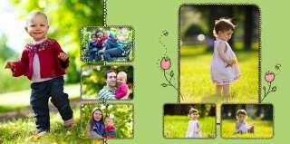 PHOTO BOOK KIDS   Photoshop Album Templates DOWNLOAD