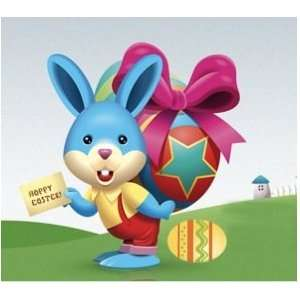 Easter Bunny & Basket Counted Cross Stitch Kit Arts, Crafts & Sewing