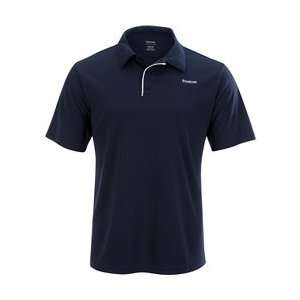 Reebok Play Dry Tennis Polo Mens   ATHLETIC NAVY/WHITE Extra Large