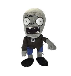 Plants Vs Zombies (PVZ) Gray zombie Plush Toy doll 6