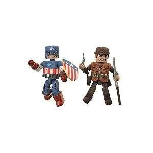 Figure 2Pack Golden Age Captain America Dum Dum Dugan Toys & Games
