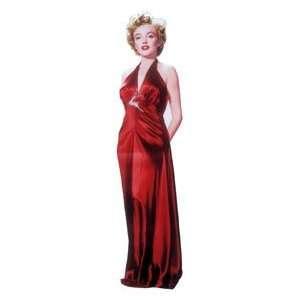 Marilyn Monroe   Red Dress Life Size Cardboard Standee 316